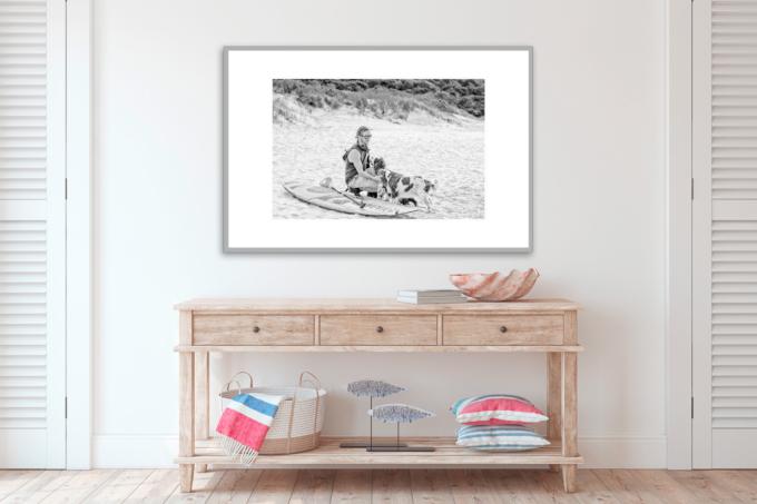 Fine art print of TASSIE SURFER #II on your wall